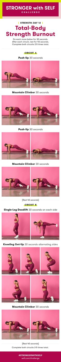 Today's workout is about strengthening your whole body with just a few moves. That means trainer Lita Lewis, who designed the workout, was strategic about choosing varied exercises that work your body in various ways and give you the most bang for your buck.