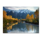 Found it at Wayfair - 'Autumn River' by Pierre Leclerc Photographic Print on Canvas