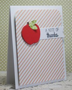 a note of thanks by rosigrld - Cards and Paper Crafts at Splitcoaststampers