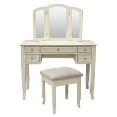 Shop for vanity at Bed Bath & Beyond. Buy top selling products like Alexis Bathroom Vanity with Stool and Charlotte Vanity Set with Power Strip and USB. Makeup Vanity Set, Bathroom With Makeup Vanity, Diy Makeup Vanity Plans, Makeup Dresser, Makeup Vanities, Vanity Bag, Vanity Ideas, Makeup Dressing Table, Dressing Area