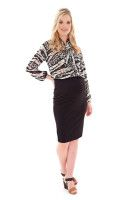 Career pencil skirt Maternity Wear, Career, Pencil, Dresses For Work, Skirts, How To Wear, Fashion, Moda, Carrera