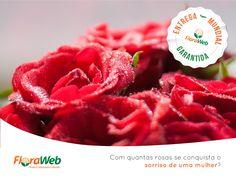 As flores mais clássicas, símbolos do amor e do romantismo podem chegar até quem você ama, nos 5 continentes, em 48h. Não deixe para amanhã! Para arrancar sorrisos e suspiros, acesse: www.floraweb.com.br