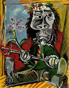 Pablo Picasso - Man With a Sword, 1969