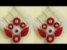 Genius craft idea out of paper diy room decor 2018 handmade craft wall hanging making at home Easy Paper Crafts, Wood Crafts, Handmade Home Decor, Handmade Crafts, Paper Flower Vase, Paper Vase, Diy Room Decor, Wall Decor, Diy Decoration