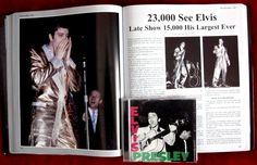 """Elvis' """"Gold Lame"""" tour of the US and Canada"""