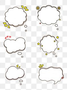 Cartoon circle cloud bubble dialog border element PNG and PSD Blue Sky Background, Cartoon Background, Background Banner, Cartoon Sun, Cartoon Clouds, Dialogue Bubble, Cartoon Mushroom, Black And White Sketches, Frame Template