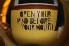 Mind first.