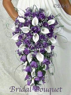 Beautiful waterfall bouquet...