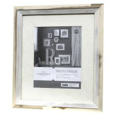 Threshold™ Frame with Woven Mat - Natural 8x10