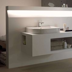 Bespoke bathrooms: Andrea Barzotto discusses why the space should reflect you Luxury Bathroom, Bathroom, Futuristic Interior, Lighted Bathroom Mirror, Bespoke Bathroom, Bathroom Decor, Recessed Shelves, Bathroom Design, Bathroom Mirror