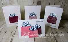 Hello Friends   It's stamp on the go for today. This card would be perfect for Birthday and also for Christmas just changing the colo...