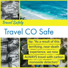 Carbon Monoxide Poisoning ~The Silent Killer! Camp Counselor, Hotel Staff, Open Window, Happy Endings, Along The Way, Us Travel, Stuff To Do, Hotels, Room
