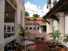 Raffles Hotel, Singapore by Sara Spencer