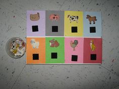 Great Blog and pictures of Teacch ideas! Love all the sorting and matching tasks.