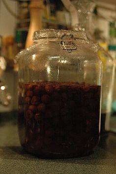 Wiśniówka (wódka) – Wikipedia Whiskey Bottle, Food, Essen, Meals, Yemek, Eten