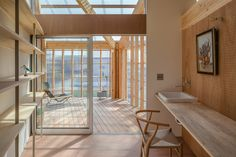 located in central japan, architects SNARK inc. & OUVI have constructed a wooden two-story house equipped with a solarium for cultivating and viewing flora. Japan Architecture, Minimalist Architecture, Interior Architecture, Interior Design Programs, Luxury Interior Design, Solarium Room, Sunroom, Japanese House, Glass House
