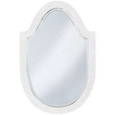Howard Elliott Lancelot White Arched Mirror 2125W