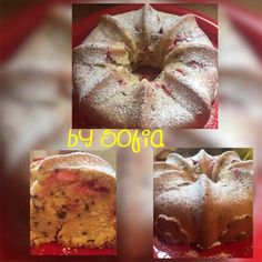 Κέικ φράουλα - καρύδα Bagel, Bread, Food, Eten, Bakeries, Meals, Breads, Diet