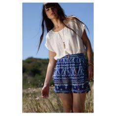 Indigo Shorts