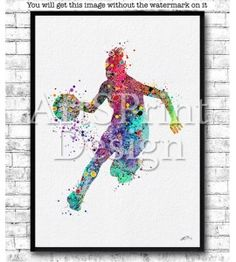 Tennis Posters, Sports Painting, Sports Art, Love To Shop, New Baby Gifts, Inspirational Gifts, Watercolor Print, Art Pictures, Keep It Cleaner