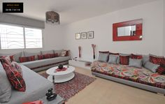 Appartements Économiques Fadaat Al Mohit 2 - Casablanca Sofa Set Designs, Sofa Design, Interior Design, Casablanca, Center Table, Fashion Room, Home Accessories, Sweet Home, House Design