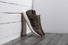 Khaki pánské tenisky adidas PureBoost All Terrain Trace 3990 Kč Adidas Pure Boost, Sneakers, Shoes, Black, Fashion, Tennis, Moda, Slippers, Zapatos