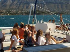 Sailing in Denia (Alicante) Spain.