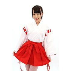Japanese Kawaii Holy Miko Costume Play Set >>> Be sure to check out this awesome product-affiliate link.