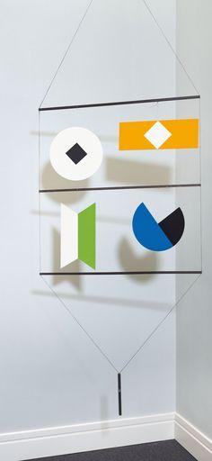 Bruno Munari, Macchina inutile multiple proposed by Sangallo Fine Art for sale on the art portal Amorosart Mobiles, Kindergarten Montessori, Modulo 2, Ecole Art, Mobile Art, Collage, Objet D'art, Hanging Art, Geometric Shapes