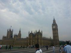 Las casas del parlamento en londres