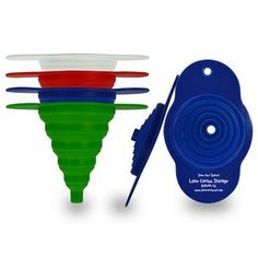 Cook's Choice Collapsible Funnel #funnel #collapsiblebrandedfunnel #siliconefunnel #kitchengiveaway