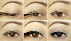 """Guapología: 4 pasos para un delineado """"cat eye"""" perfecto"""