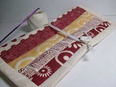 Quilted Crochet Needle Case Double Pointed by brenniequilts, $22.00