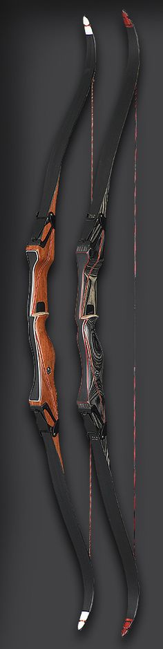 Traditional breakdown recurve bows