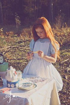 Alice in Wonderland Concept Shoot  Abigail Fahey Photography