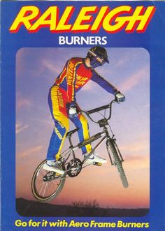 1984 Raleigh Aero Pro Burner