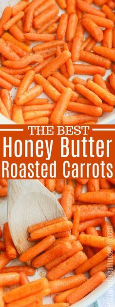 I LOVE these Roasted Carrots Honey. They taste so good and are so good! I LOVE these Roasted Carrots Honey. They taste so good and are so good! Side Dishes Easy, Vegetable Side Dishes, Side Dish Recipes, Vegetable Recipes, Vegetarian Recipes, Cooking Recipes, Honey Glazed Carrots, Honey Roasted Carrots, Baked Carrots