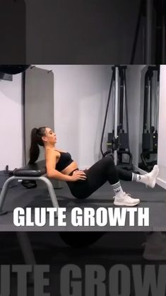 Glute Growth workout for women. Booty band workout at home. Credit: IG Source by https:/ Fitness Workouts, Gym Workout Videos, Band Workout, At Home Workouts, Fitness Motivation, Fitness Home, Body Fitness, Health Fitness, Workout Programs