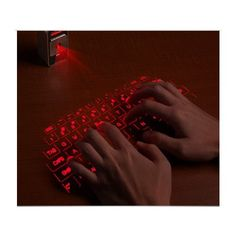Futuristisch: Magic Cube Laser Projection Virtuelle Bluetooth-Tastatur: www.lustige-gadgets.com/virtuelle-laser-tastatur/