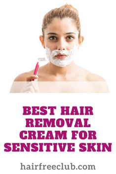 Find out the best hair removal cream for sensitive skin. Redness, rashes, itching, and burning are just a few of the problems that a sensitive-skinned folk endure when using hair removal creams. Here's a walkthrough for everything you need to know about p At Home Hair Removal, Hair Removal For Men, Best Hair Removal Cream, Best Hair Removal Products, Breaking Hair, One Hair, Unwanted Hair, Ingrown Hair