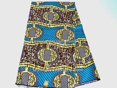 Wax Block  Cotton Print  Per yard No.WP088 by TessWorldDesigns, $7.50