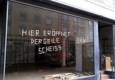 Neueröffnung - Der Geile Scheiß.