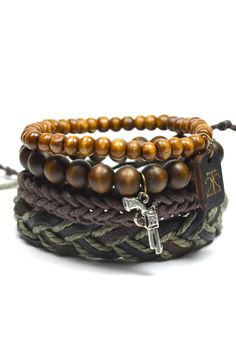 4 Pack Army Bracelet – Tag Twenty Two