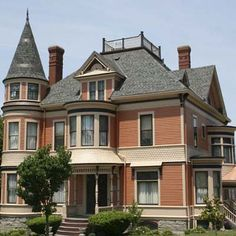 a large Italianate in the Highlands, Fall River, Massachusetts
