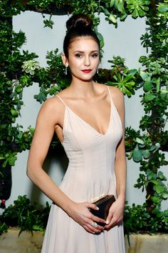 Nina Dobrev attends the 22nd Annual ELLE Women in Hollywood Awards at Four Seasons Hotel Los Angeles at Beverly Hills on October 19, 2015 in Los Angeles, California.