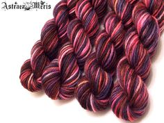 Wood Fae Mini Skein / Fingering Weight / Virgin by AstraeaMeris, $2.50