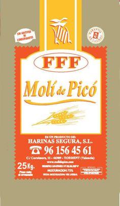 La harina FFF es una harina de procesos de panificación para fermentaciones muy largas. Se recomienda para aquellos que busquen una harina de fermentación controlada. W=140. Más información: molidepico@gmail.com o 96 156 45 61.