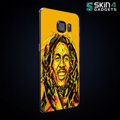 Shop Limited Edition of Mobile Skins and Cases Online http://skin4gadgets.com #MakeInIndia #bobmarley