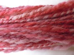 Hand spun wool, hand dyed using natural Moroccan Dyes. Using dyes sourced in… Crochet Supplies, Knitting Supplies, Spinning Yarn, Hand Spinning, Wool Yarn, Knitting Yarn, Red Purple, Blue, Vintage Crafts