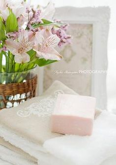 Fresh Flowers ~ Special Soaps ~ Lovely Towels ~
